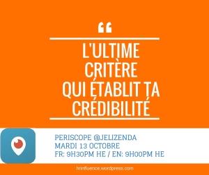 Credibilité